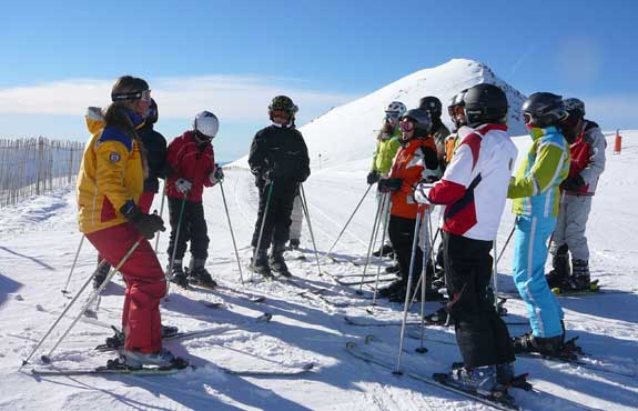 hiring ski clothing