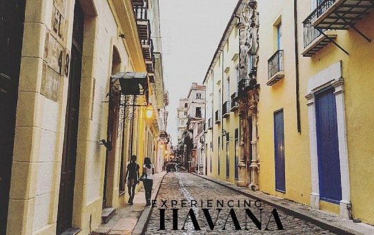 The streets of Old Havana.
