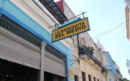 La Bodeguita del Medio - an old haunt of Hemmingway's.