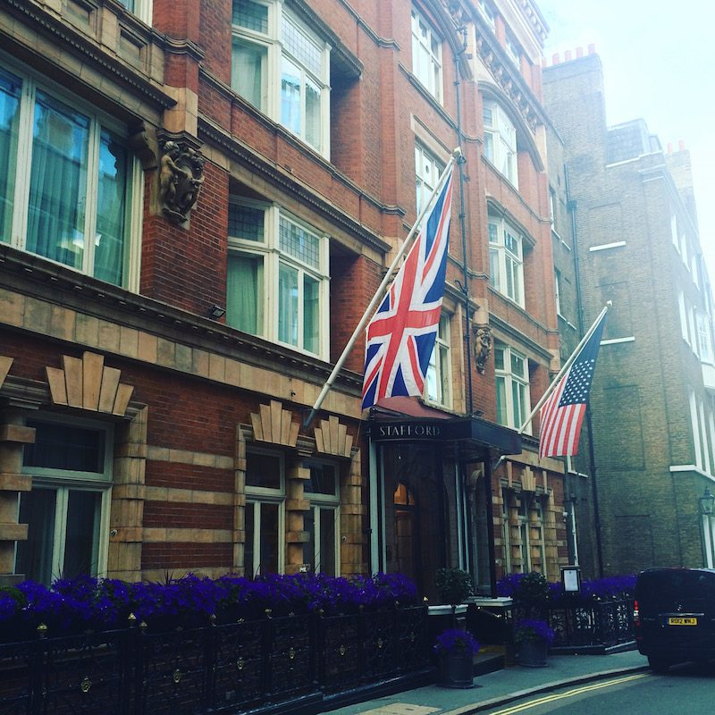 A weekend at The Stafford London