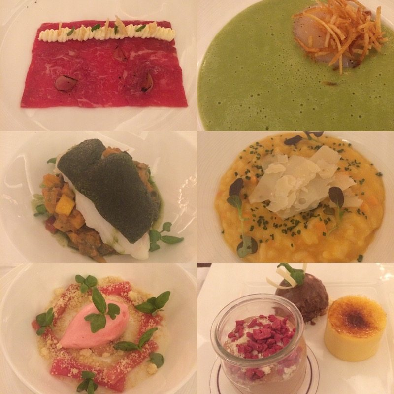 Decadent dishes at The Lyttelton restaurant at The Stafford London.