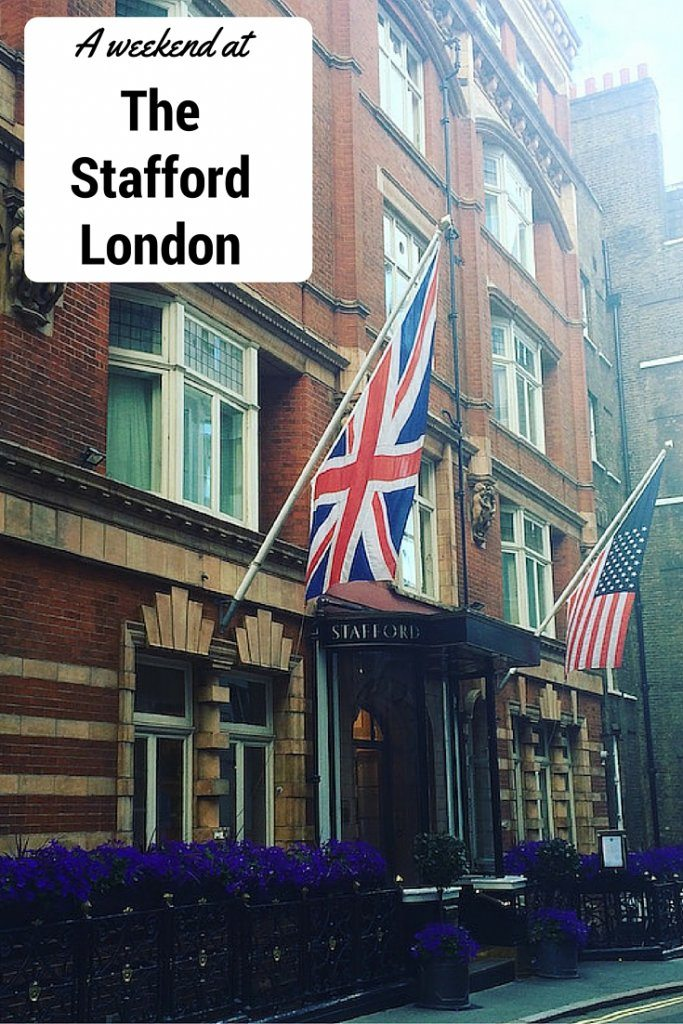 A weekend at The Stafford London - a luxury city hotel.