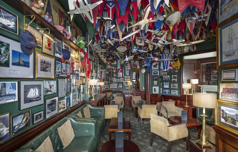 The American Bar in all it's glory. - The Stafford London.