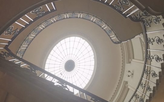 Nelson's Stair Somerset House | Ladies What Travel