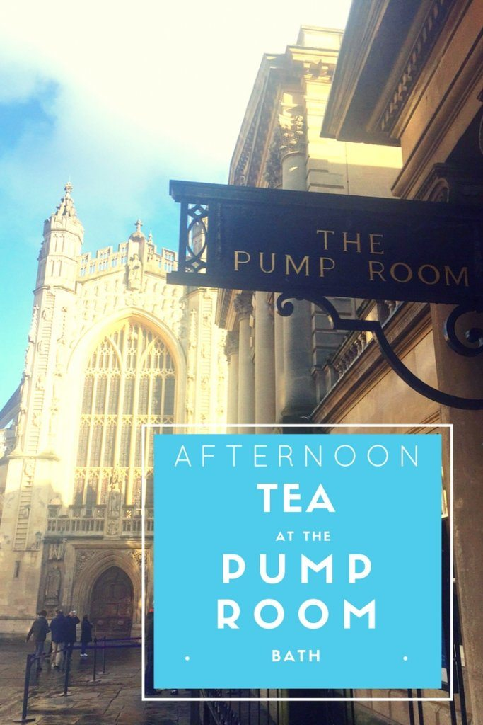 Afternoon Tea In The Pump Room Bath