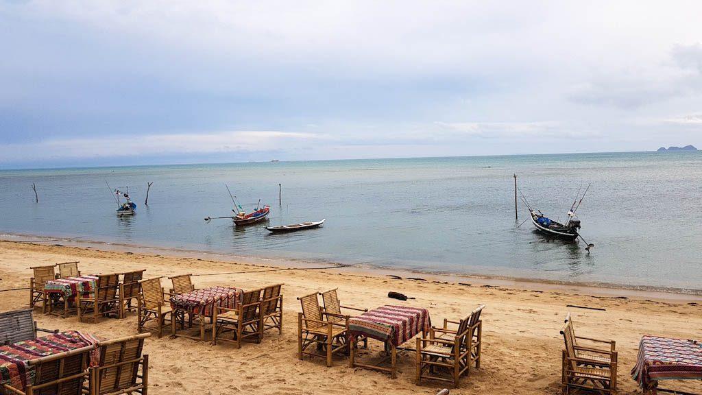 Beach restaurant Koh Samui
