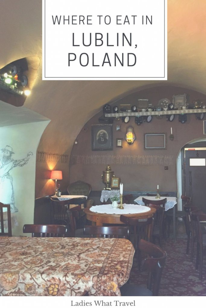 Where to eat in Lublin poland | Ladies What Travel