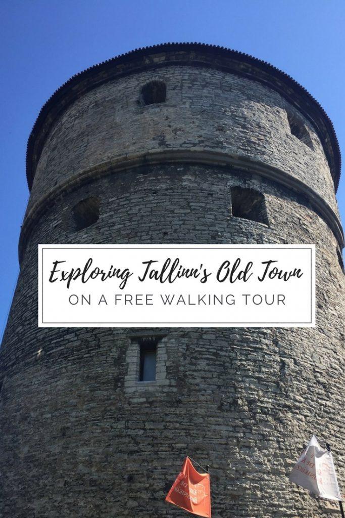 Tallinn old town free walking tour
