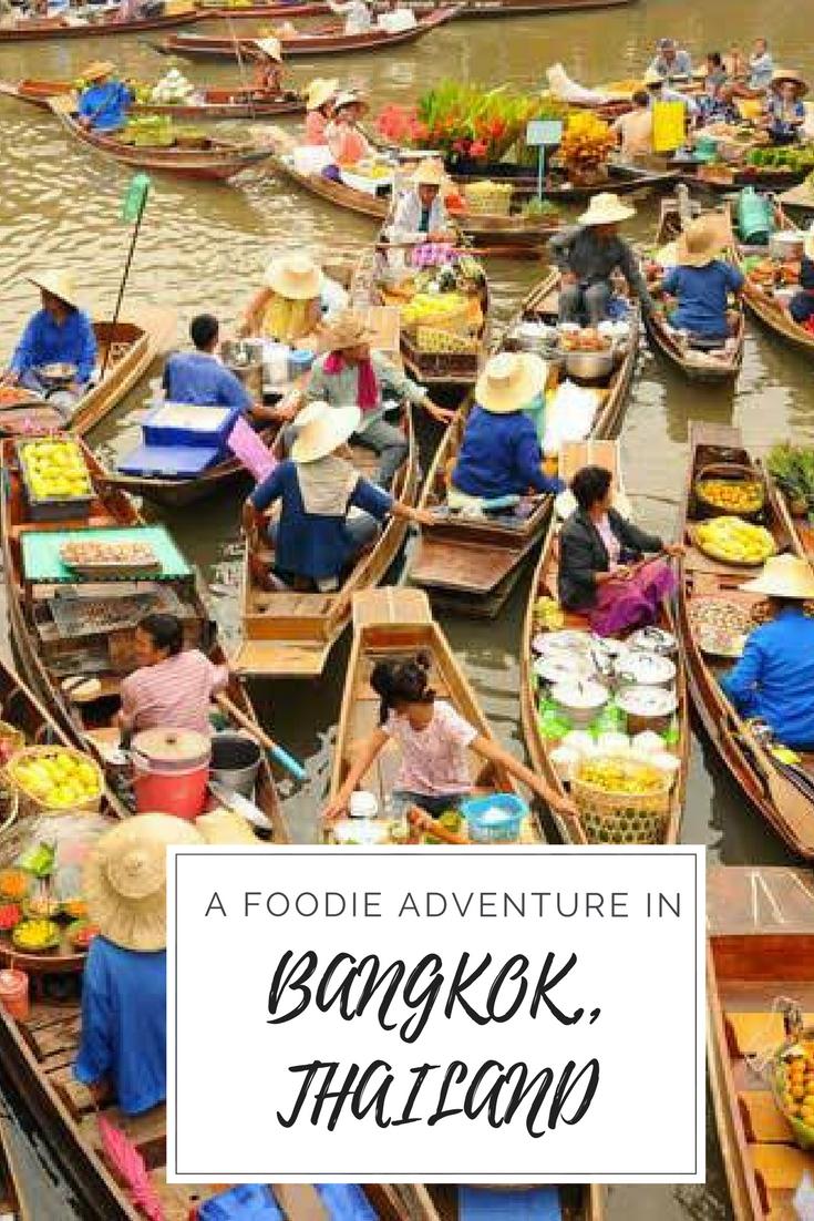 A foodie adventure in Bangkok, Thailand