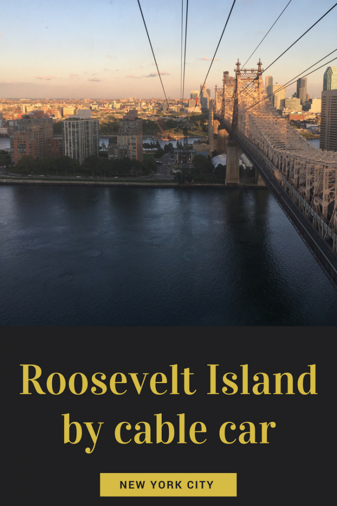 Pinterest Image for Roosevelt Island by cable car