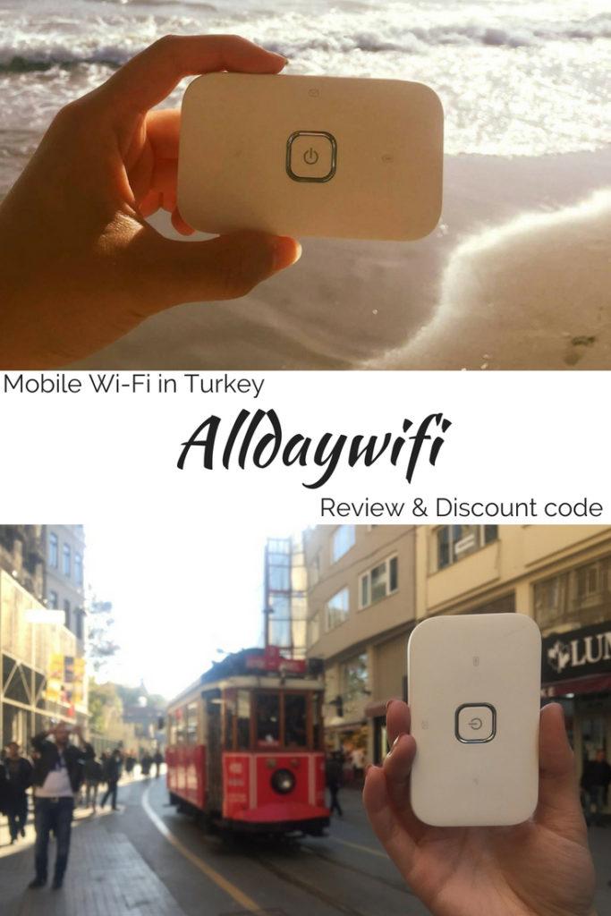 Alldaywifi review mobile wifi in Turkey