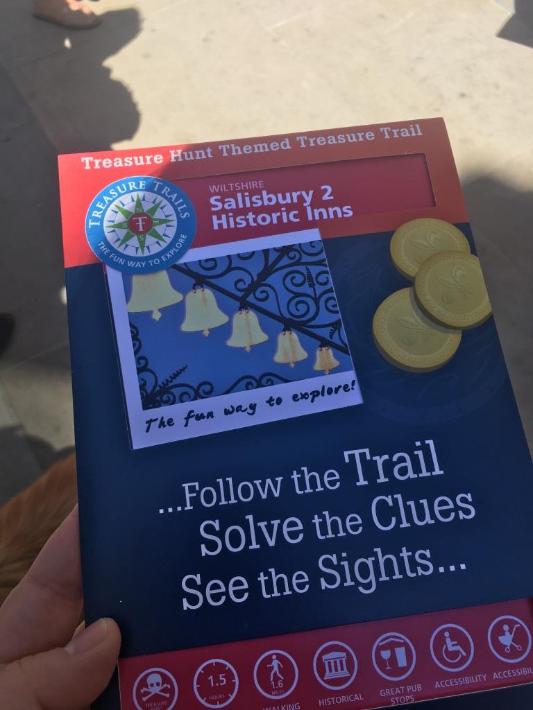 One day in Salisbury - Treasure Trail