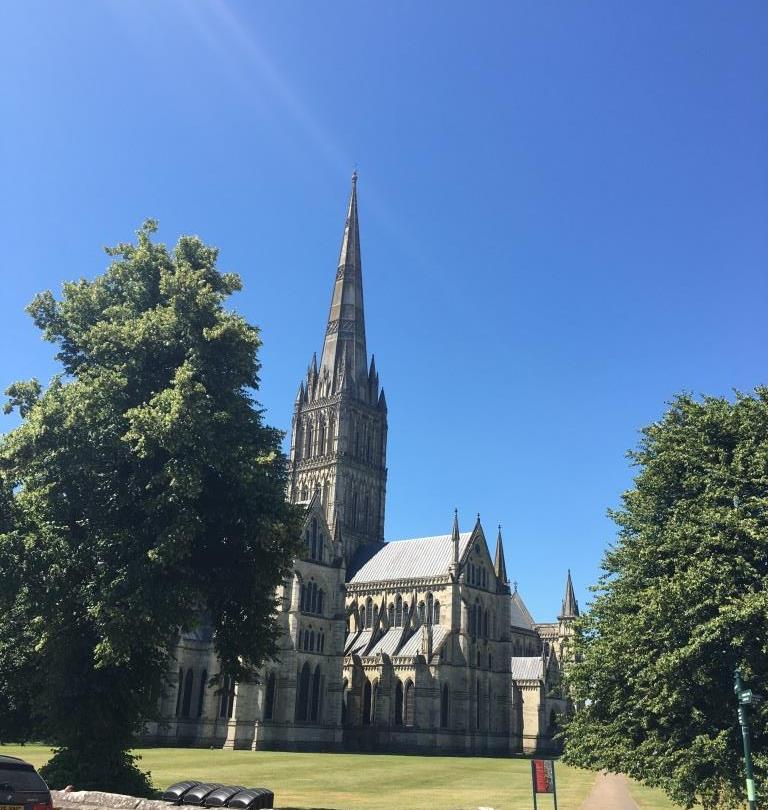 One day in Salisbury - Salisbury Cathedral Tower