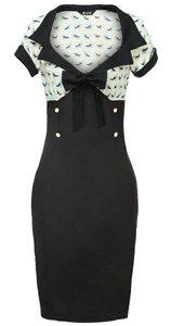 A Lady V London wiggle dress.