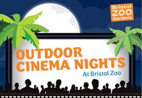 Bristol Zoo's 2013 outdoor cinema events.