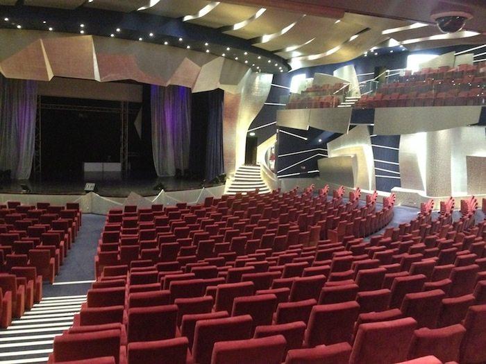 MSC Splendida Strand Theatre