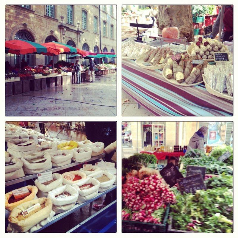 Le marché, Aix-en-Provence.