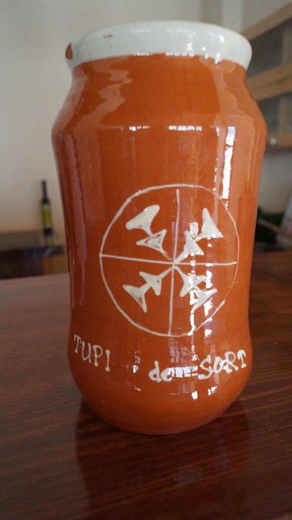 Tupi cheese jar