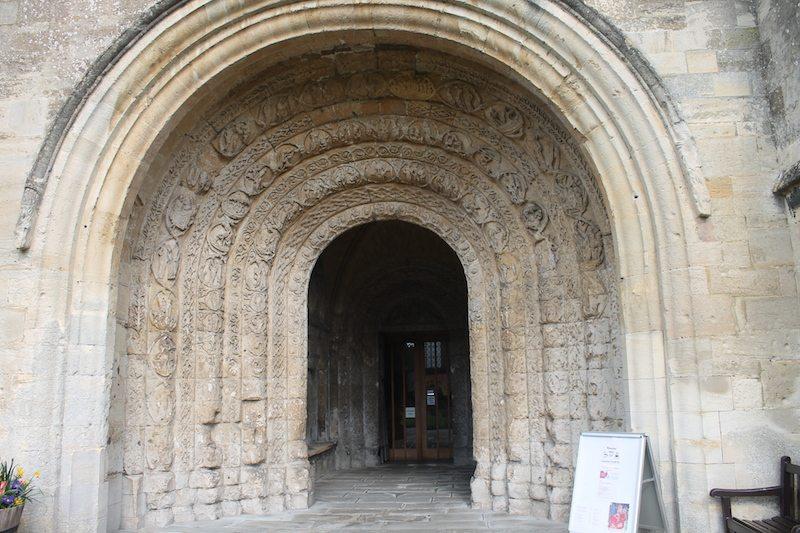 Malmesbury Abbey entrance