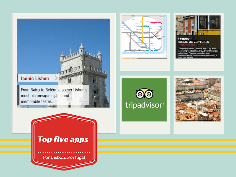 Five top apps for visiting Lisbon, Portugal