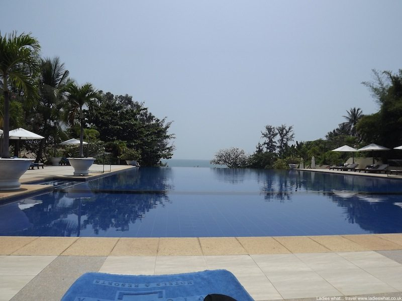 Infinity pool at Victoria Phan Thiet