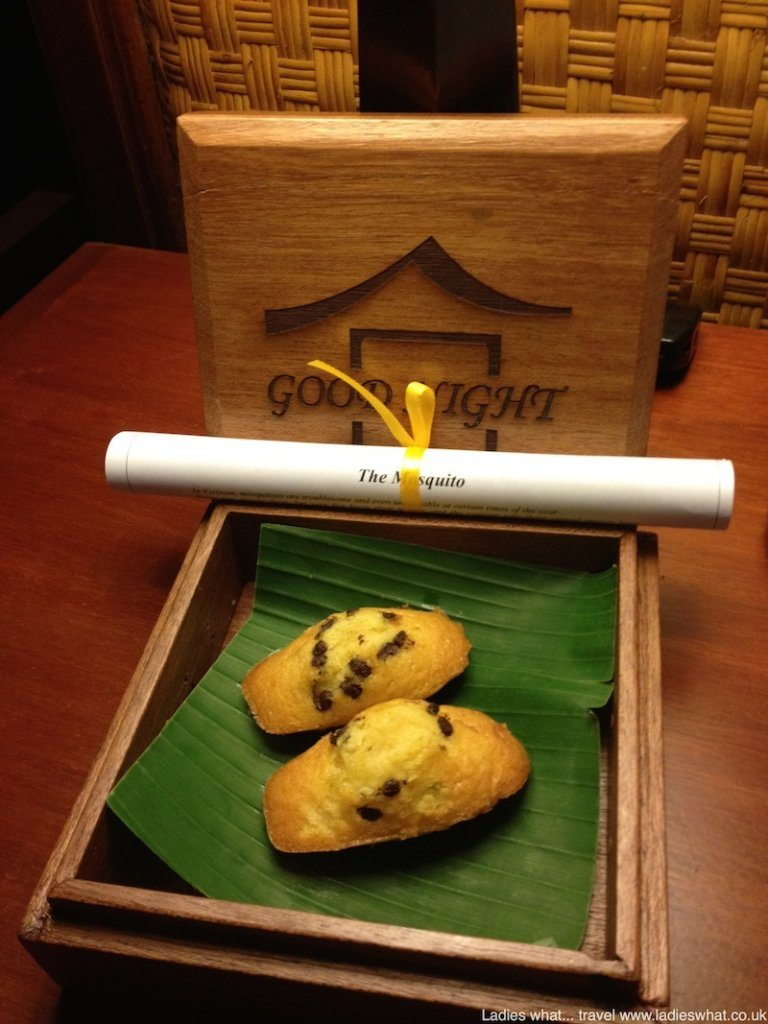 bedtime treat at Victoria Phan Thiet
