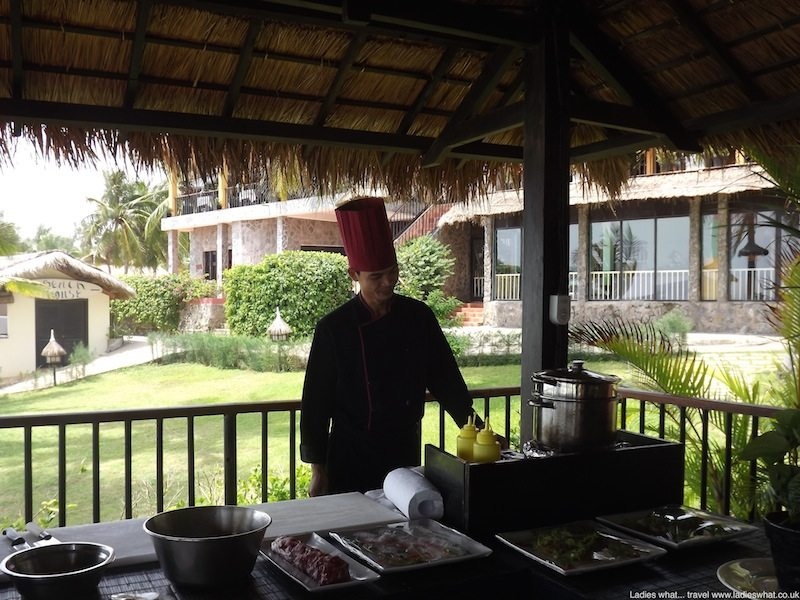 Cooking class at Victoria Phan Thiet