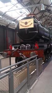 train at STEAM swindon