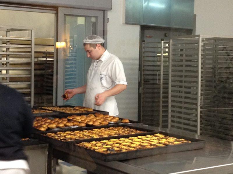 chefs pastéis de Belém'