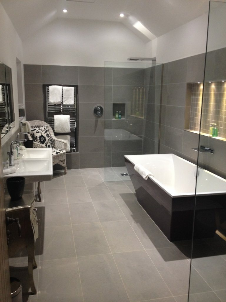 The Chagall Suite's luxurious bathroom.