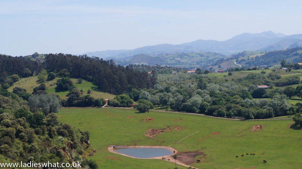Cabarceno nature park view
