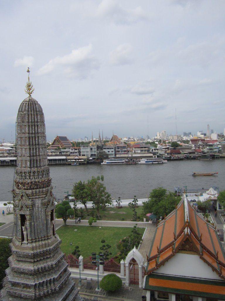 A great view of Bangkok from Wat Arun!