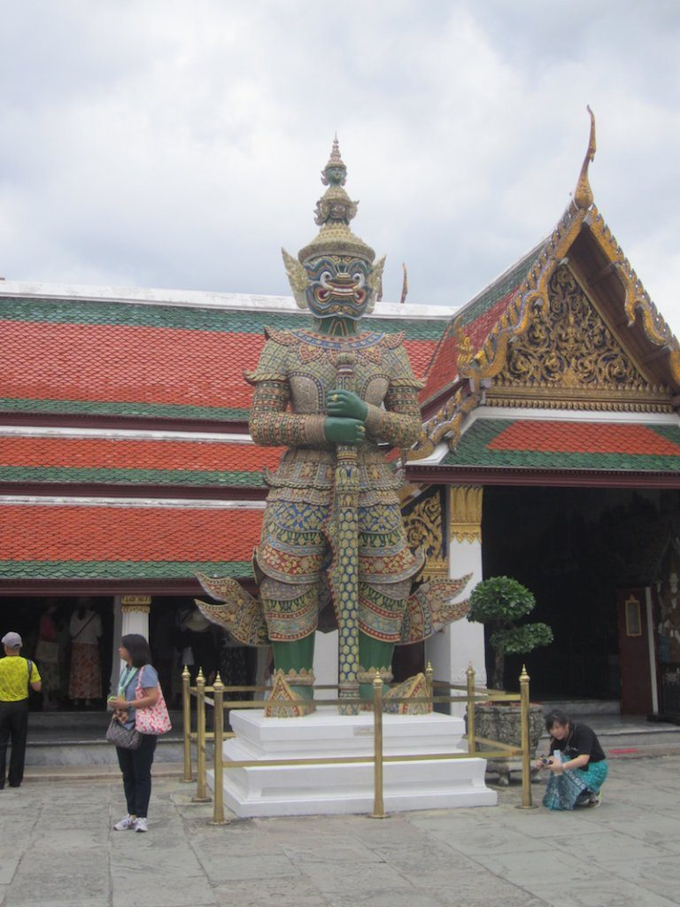 Statue at the Grand Palace, Bangkok