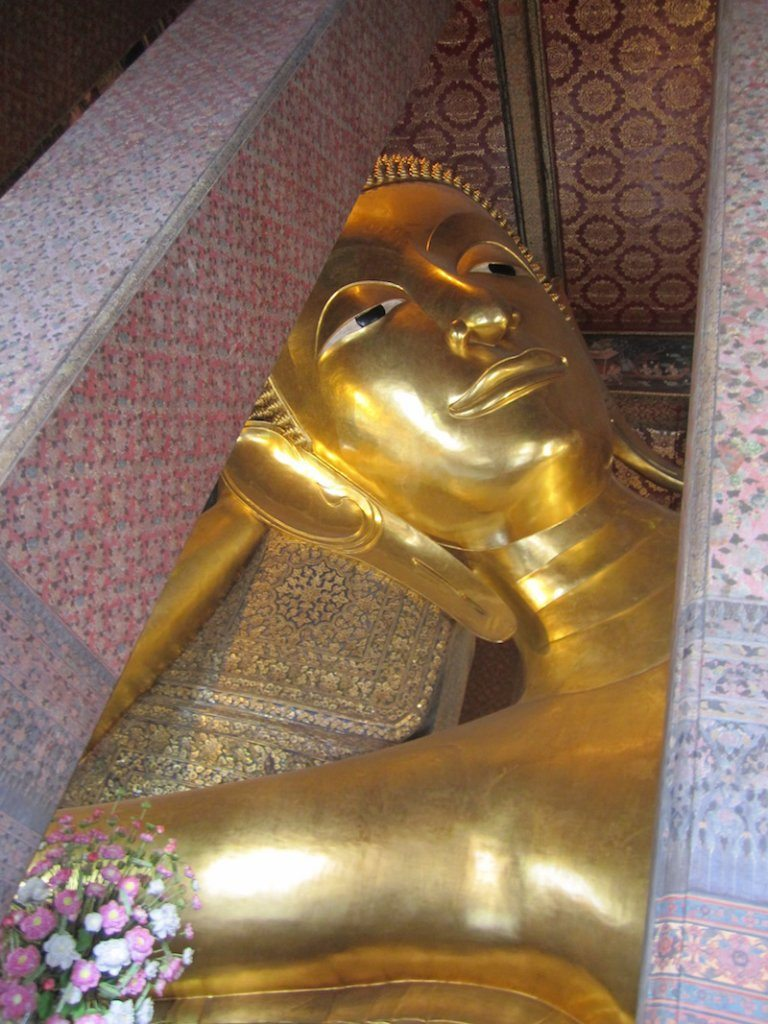 The Reclining Buddha at Wat Po, Bangkok