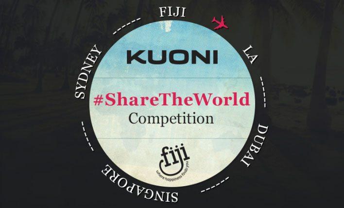 Kuoni #ShareTheWorld competition