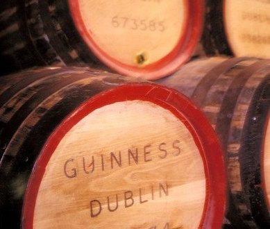 guiness barrels dublin