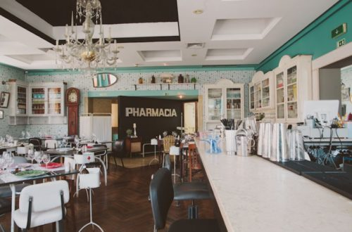 The Pharmacia restaurant, Lisbon.