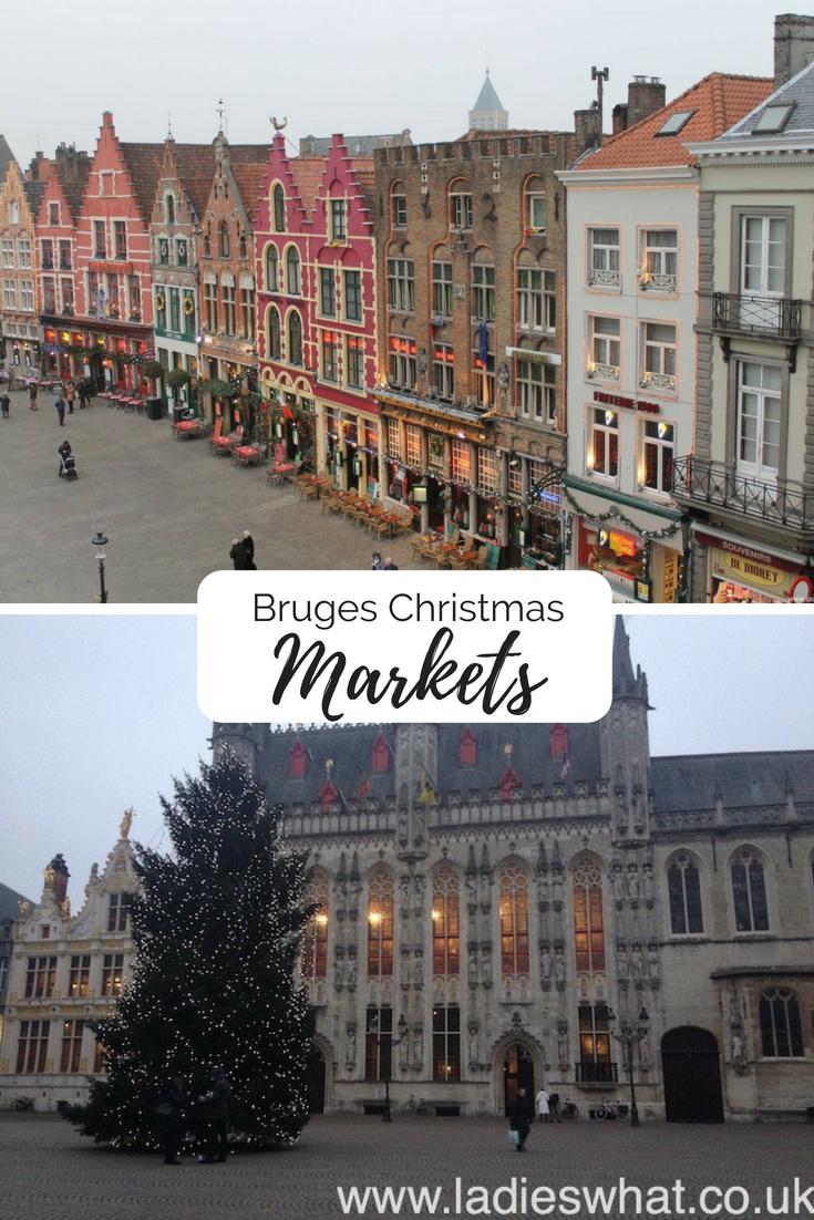 Bruges Xmas Markets pin