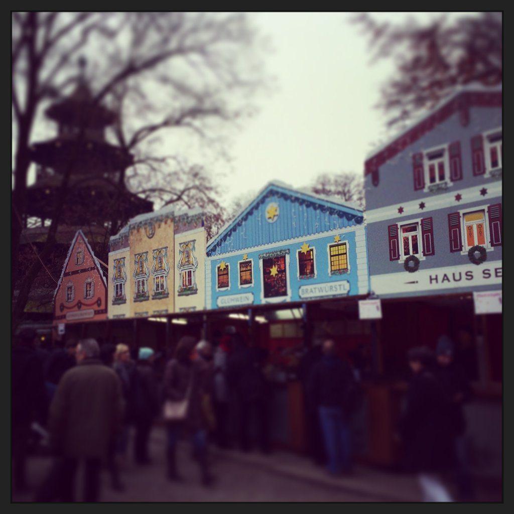Englischer Garden market
