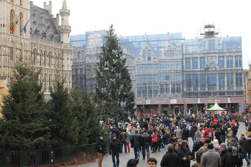 Grand Place Brussels Christmas Markets