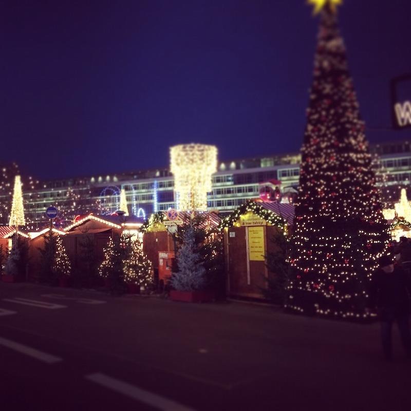 Potsdamer Platz Christmas market.