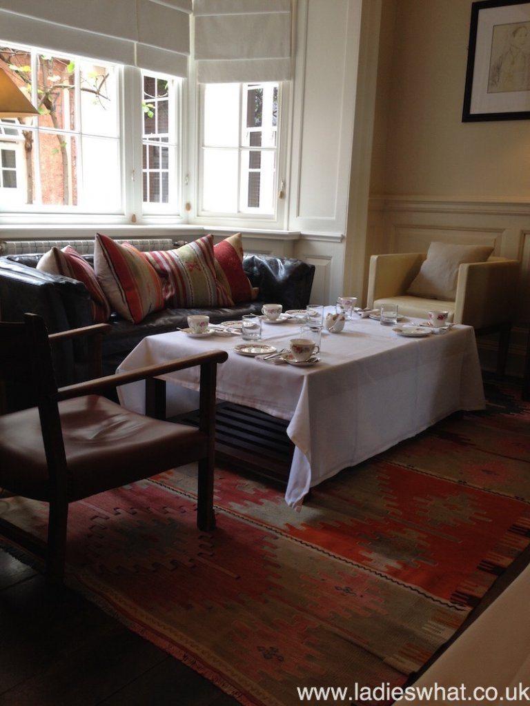 Wedgewood room, The Angel Hotel, Abergavenny
