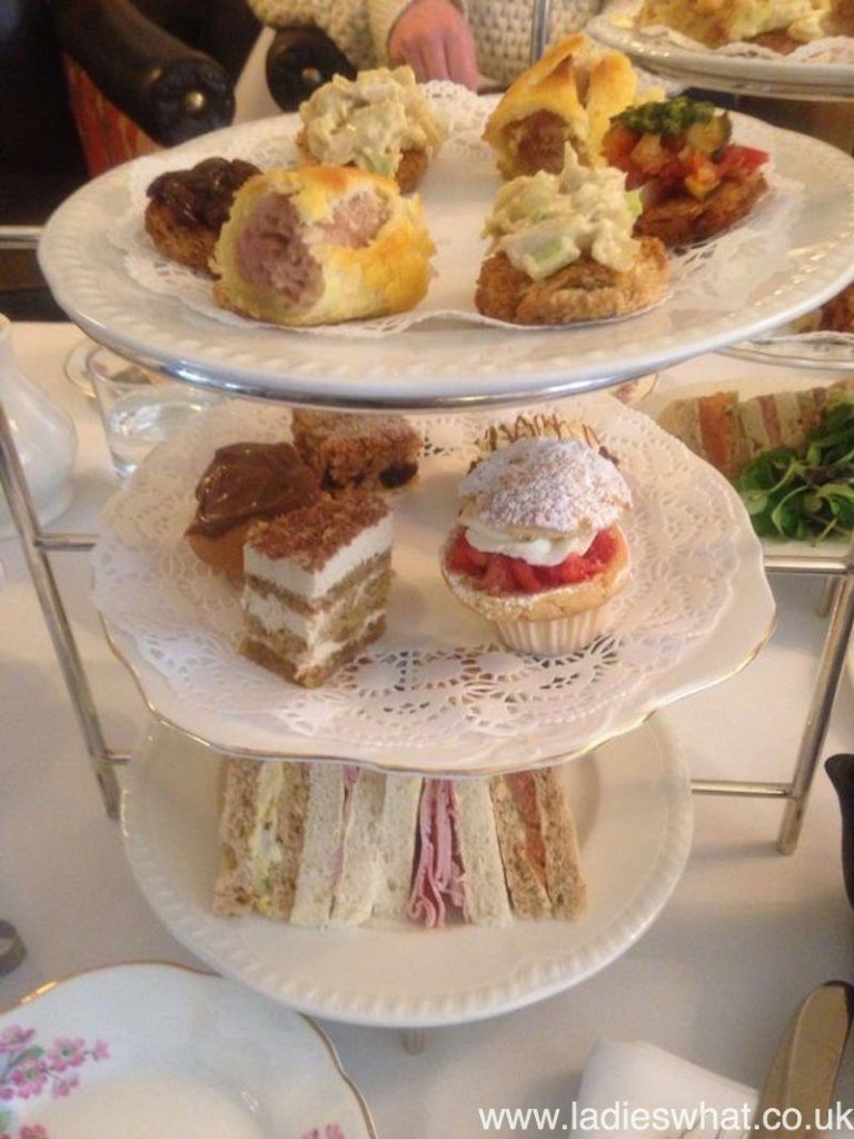 Afternoon tea in wales - abergavenny