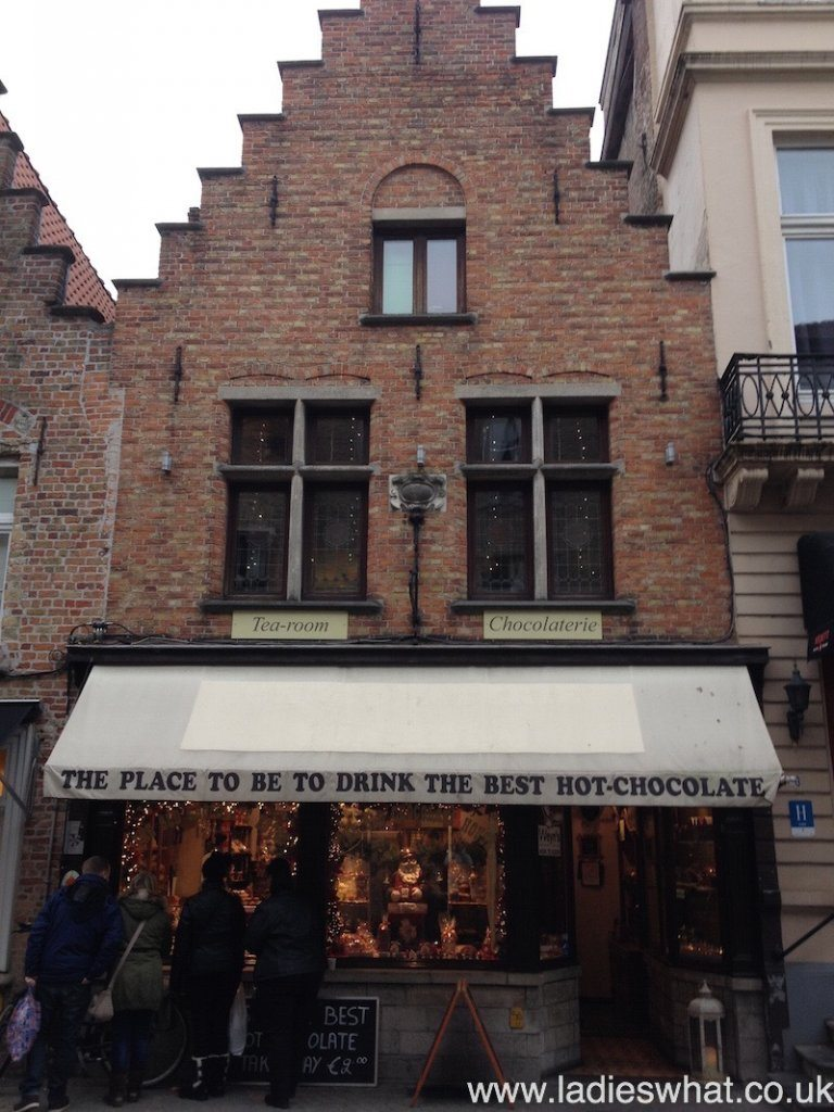 The Old Chocolate Shop, Bruges.