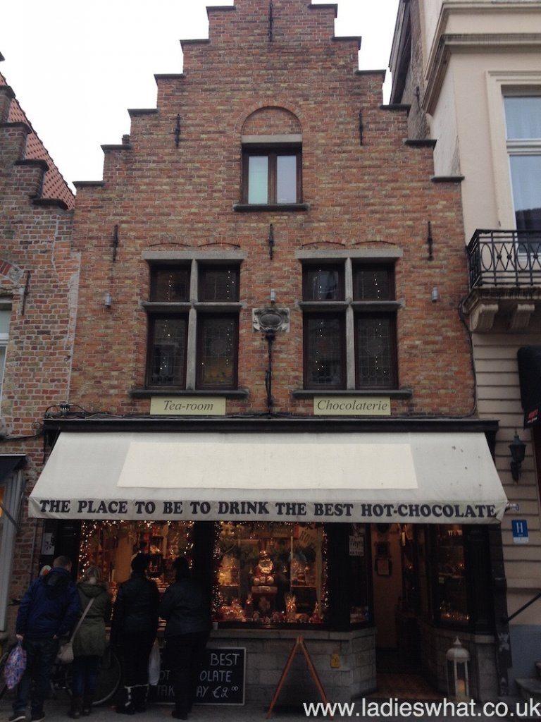 The Old Chocolate Shop, Bruges.