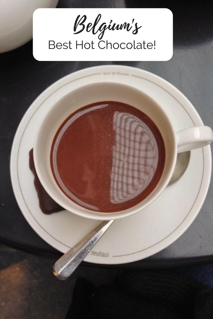 Belgiums Best Hot Chocolate