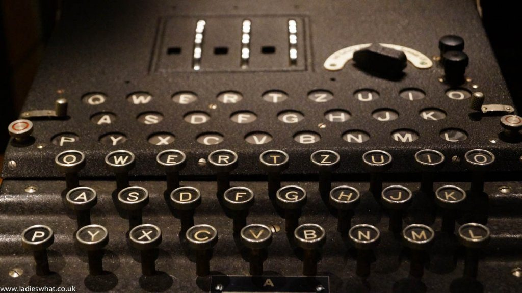 Bletchley Park enigma machine