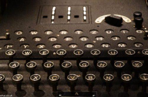 Bletchley Park enigma machine