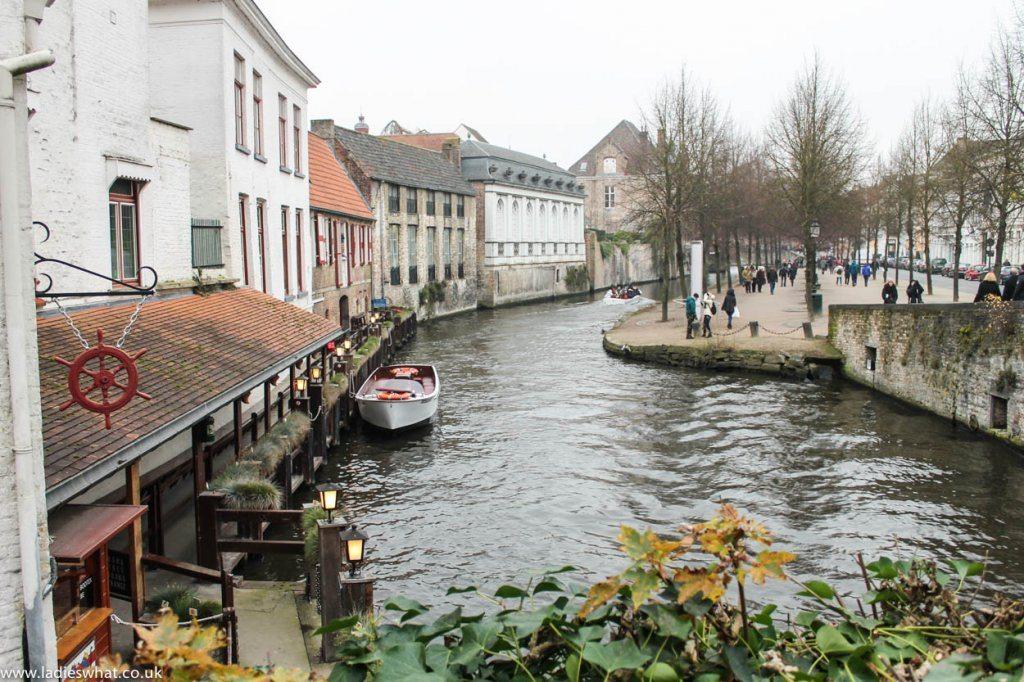 Bruges canal tour 3