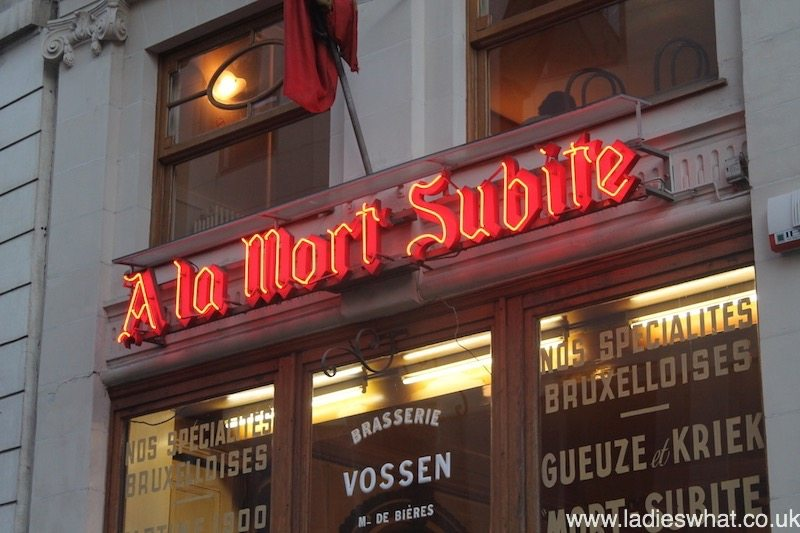 Mort Subite: Discovering 'Sudden Death' in Brussels